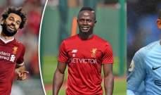 صلاح ومحرز وماني ضمن قائمة مختصرة لجائزة أفضل لاعب أفريقي