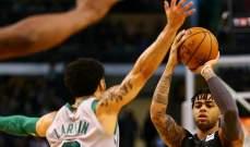 NBA : بوسطن سيلتيكس يفوز على بروكلين نيتس