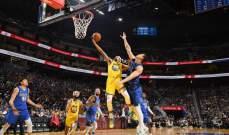 مافريكس يهزم واريورز في الرابطة الوطنية لكرة السلة الاميركية