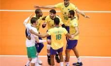 البرازيل تحرز لقب مونديال كرة الطائرة