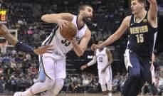 NBA: كليفلاند يسقط للمرة العاشرة ودنفر يبتعد عن الصدارة غربياً