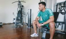 السومة يستعد لعودة الدوري السعودي بانشاء صالة رياضية في منزله