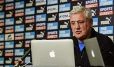 ستيف بروس: اتوقع مباراة صعبة امام المانيو