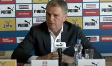 يوفيتش ضمن قائمة المنتخب الصربي في مواجهة النروج