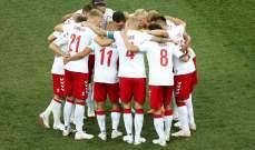 الدنمارك تسجل رقماً غريباً على صعيد الأهداف