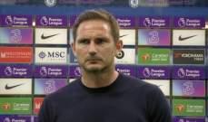 لامبارد: قرار إستبعاد كيبا كان متخذًا قبل الخسارة امام ليفربول