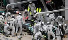 ترتيب الصانعين بعد انتهاء موسم بطولة العالم للفورمولا 1