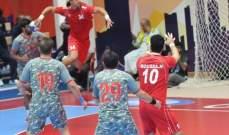 خسارة الصداقة في الجولة الاولى في كرة اليد اسيويا