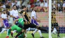 كأس محمد السادس: خسارة قاسية للعهد امام اتحاد جدة السعودي