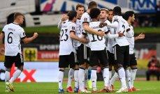 اهم مجريات المباراة بين ايسلندا والمانيا
