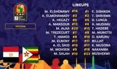 تشكيلة منتخب مصر لافتتاح كأس امم افريقيا