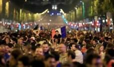 تكريم من نوع خاص للمنتخب الفرنسي في باريس