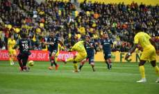 الدوري الفرنسي: نانت يتخطى ديغون بثلاثية وتعادل ايجابي بين تولوز ورين