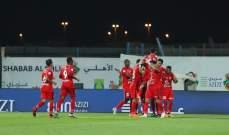 كأس الامارات: انتصارات للوحدة والوصل وشباب الاهلي دبي