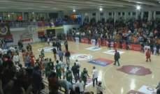 برنامج المرحلة الثانية من بطولة لبنان لكرة السلة