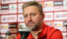 مدرب بولندا يشعر باستياء كبير بعد الخسارة من ايطاليا
