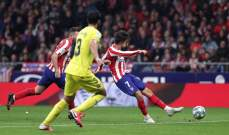 علامات وأهداف لاعبي مباراة اتلتيكو مدريد - فياريال