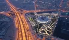 امير قطر يشارك في افتتاح استاد الوكرة المونديالي بحضور نجوم من العالم