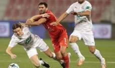 سامي: كنا نستحق التعادل امام العربي