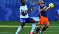 مونبلييه يحسم مباراة الاهداف السبعة امام ستراسبورغ ولانس يزيد معاناة ديغون