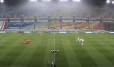 إنطلاق مباراة كوريا الجنوبية ولبنان