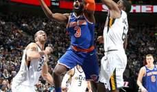 NBA: النيكس يتخطى الجاز بفارق نقطتين