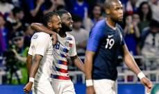 فرنسا تختتم مشوارها الودي بالتعادل مع الولايات المتحدة الاميركية