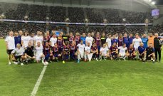 اساطير ريال مدريد يتفوقون على اساطير برشلونة