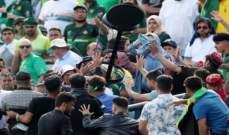 مشاجرات بين مشجعي باكستان وأفغانستان خلال كأس العالم للكريكيت