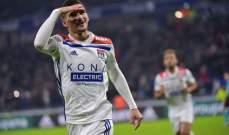 كأس فرنسا: ليون يحجز بطاقة التأهل بإكتساحه بيروناس بسباعية نظيفة