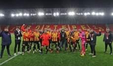 الدوري التركي: غوزتيبي يتجاوز ريزا سبور بثنائية
