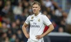ريال مدريد يضع 6 لاعبين على لائحة البيع