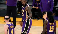 تفاصيل مبارة الليكرز وتشارلوت في NBA