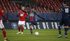 مبابي يقود باريس سان جيرمان للتقدم في كأس فرنسا بسهولة