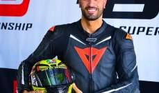 انجاز كبير للبناني جورج مقبل في بطولة البحرين للدراجات النارية