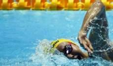 سباحة استرالية شابة تسقط ليديكي في بطولة العالم