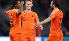 تصفيات يورو 2020: هولندا تنجو من مطب بيلاروسيا وروسيا تضمن تاهلها