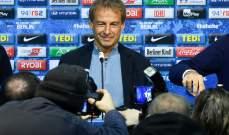 كلينسمان يستقيل من تدريب هيرتا برلين بعد 10 أسابيع من تعيينه