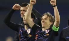 مودريتش سعيد بالفوز ويؤكد انه سيستعيد مستواه تدريجيا