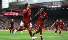 ليفربول يستعيد صدارة البريمرليغ بفوز صعب امام توتنهام