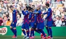 برشلونة الاكثر تهديفاً في تاريخ الليغا متفوقاً على ريال مدريد