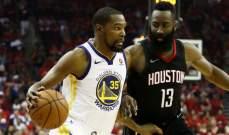 NBA PLAYOFFS : هيوستن يعادل سلسلة نهائي المجموعة الغربية