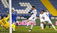 إحصاءات من مباراة البوسنة - ايطاليا