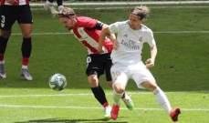 قائد بلباو مهاجما ريال مدريد: يحتسبون ركلات الجزاء حسب إسم الفريق