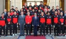 السيسي يصرف مكافأة ضخمة للاعبي المنتخب المصري