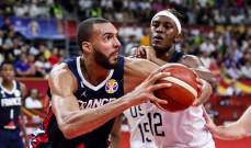 فرنسا تنهي سيطرة اميركا في كرة السلة بعد 58 فوز متتالي