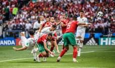 تغريدة من رونالدو عقب الفوز على المغرب