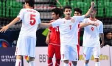 بطولة اسيا لكرة الصالات تحت 20 عاما: لبنان يسحق ميانمار بسباعية نظيفة