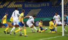 كأس المانيا: دورتموند يعبر للدور المقبل بثنائية في مرمى براونشفايغ وخروج هوفنهايم