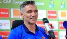 كارتيرون غير راض عن اداء الاهلي رغم التأهل لنهائي دوري أبطال أفريقيا